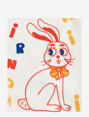 Mini Rodini - MR rabbit aop nb leggings - leggings - offwhite - 2