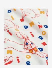 Mini Rodini - MR rabbit aop jumpsuit - langärmelig - offwhite - 2