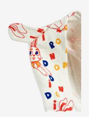Mini Rodini - MR rabbit aop bunny onesie - langärmelig - offwhite - 3