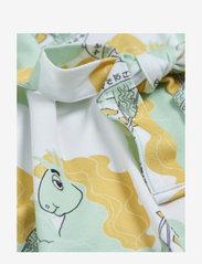 Mini Rodini - Unicorn noodles tank dress - jurken & rokjes - green - 1