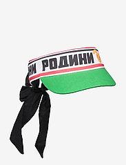 Mini Rodini - Moscow bow tie visor - huer & kasketter - green - 0