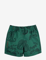 Mini Rodini - Tigers swim shorts - badehosen - green - 1
