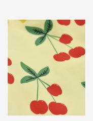 Mini Rodini - Cherry lemonade swimsuit - swimsuits - yellow - 2