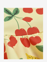 Mini Rodini - Cherry lemonade skirt swimsuit - swimsuits - yellow - 3