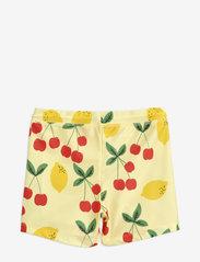 Mini Rodini - Cherry lemonade swim pants - badehosen - yellow - 1