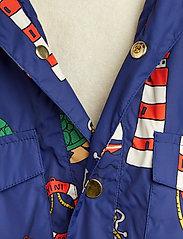 Mini Rodini - Light puffer jacket - gewatteerde jassen - navy - 4