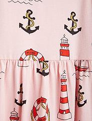 Mini Rodini - Lighthouse aop tank dress - kleider - pink - 2