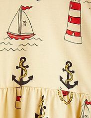 Mini Rodini - Lighthouse aop ls dress - kleider - yellow - 2