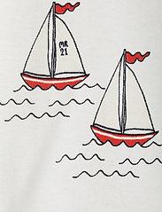 Mini Rodini - Sailing boats aop wingdress - kleider - white - 2