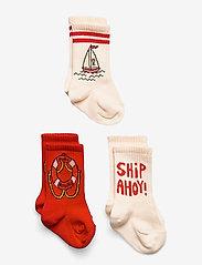 Mini Rodini - Float 3-pack socks - skarpety & rajstopy - multi - 0