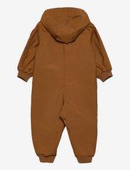 Mini Rodini - Shell overall - snowsuit - brown - 1