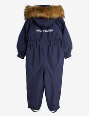 Mini Rodini - Soft ski overall - snowsuit - navy - 1