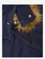 Mini Rodini - Soft ski overall - snowsuit - navy - 4
