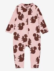 Squirrels aop jumpsuit - PINK
