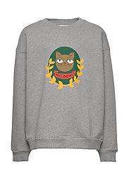 Badge SP sweatshirt - GREY MELANGE