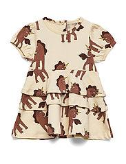 Unicorns aop ss dress - OFFWHITE