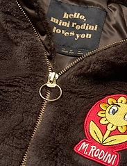 Mini Rodini - Faux fur parka - faux fur - brown - 4