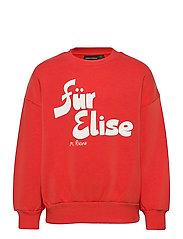 Für Elise sp sweatshirt - RED