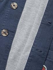 Mini Rodini - Denim strawberry safari jacket - spijkerjassen - blue - 4