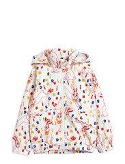 Rabbit sporty jacket - OFFWHITE