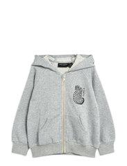 Tiger sp zip hoodie - GREY MELANGE