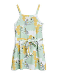 Unicorn noodles tank dress - GREEN