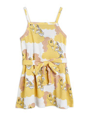 Unicorn noodles tank dress - YELLOW