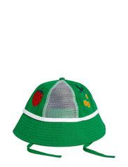 Mesh sun hat - GREEN