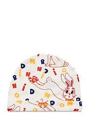MR rabbit aop baby beanie - OFFWHITE