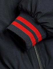 Mini Rodini - Reflective baseball jacket - bomberjacks - black - 7