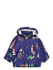 Light puffer jacket - NAVY