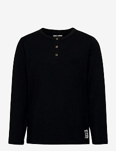 Basic grandpa - long-sleeved t-shirts - black