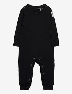 Basic jumpsuit - langärmelig - black