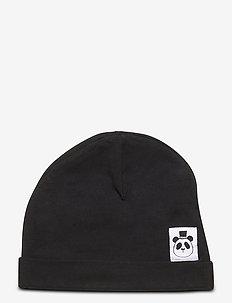 Basic beanie - kapelusze - black