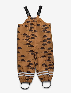 Edelweiss mouse high trousers - bukser - brown