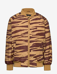 Tiger baseball jacket - bombowiec - brown