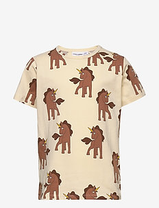 Unicorns aop ss tee - short-sleeved - offwhite
