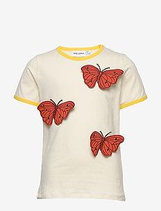 Butterflies ss tee - short-sleeved - offwhite