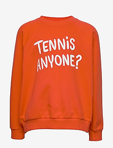 Tennis anyone sp sweatshirt - sweatshirts - red