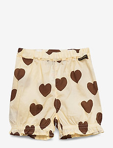 Hearts woven bloomers - shorts - offwhite