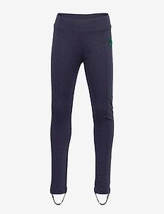 Clover emb skipants - leggings - navy