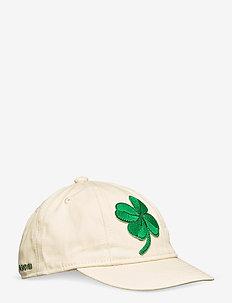 Clover cap - czapki - offwhite