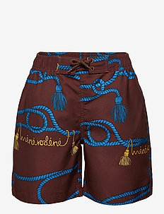 Rope swimshorts - badehosen - brown