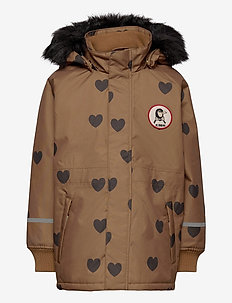 K2 hearts parka - parkas - brown