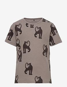 Panther rib ss tee -X- - kortærmede - grey