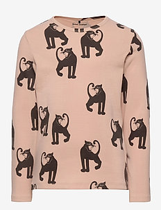 Panther rib ls tee -X- - manches longues - pink