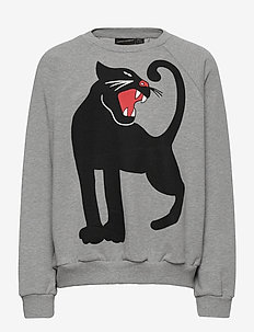 Panther sp sweatshirt -X- - sweat-shirt - grey melange
