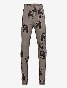 Panther rib leggings -X- - leggings - grey