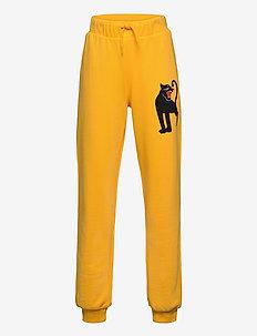 Panther sp sweatpants -X- - sweatpants - yellow