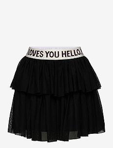 Tulle skirt - spódnice - black
